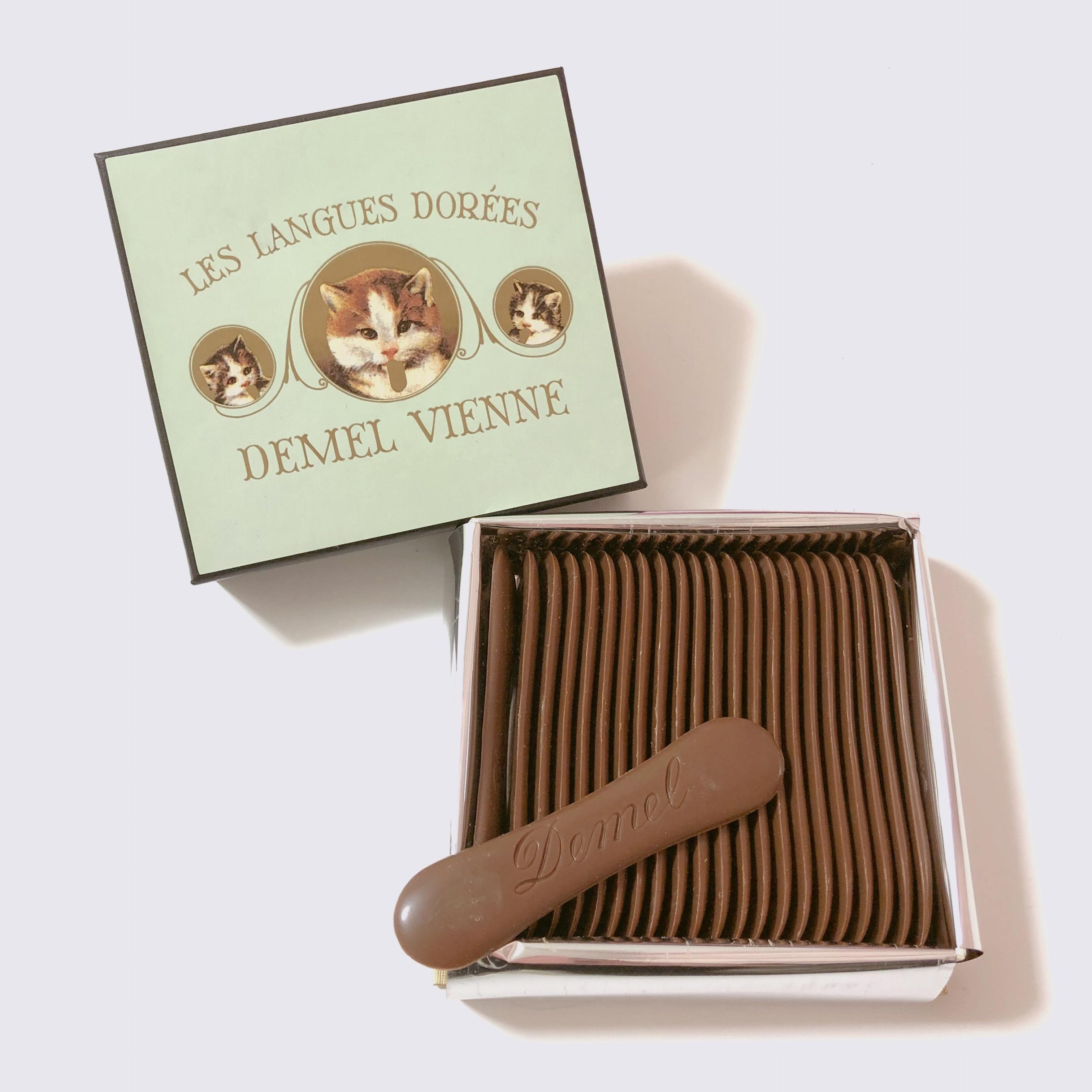 頑張ったご褒美にも♡ かわいいだけじゃない!デメルの美味しい『 猫の舌チョコレート 』はいかが?_2