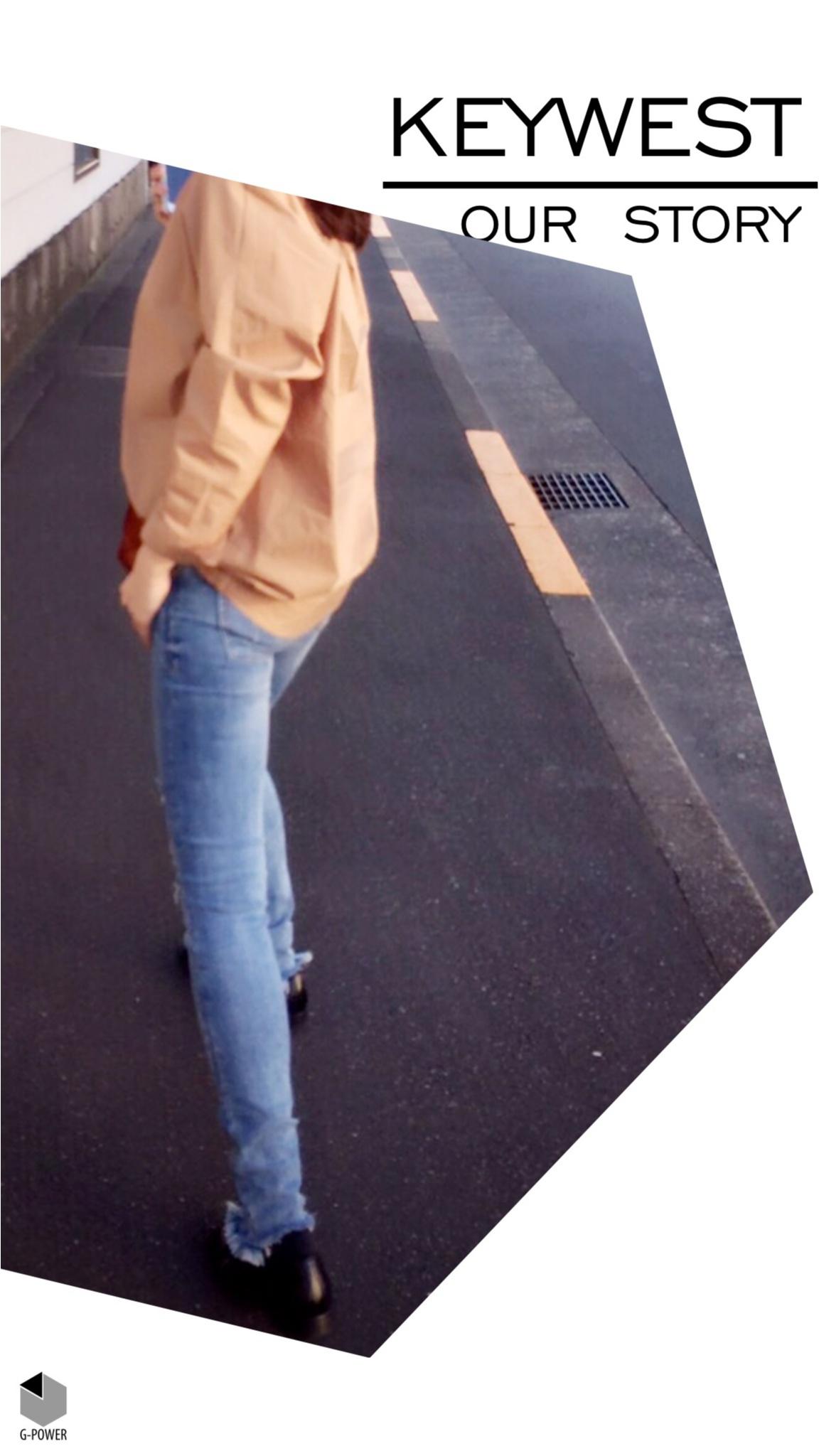 カッコよく履きたい!around27が着るダメージスキニー♡_4