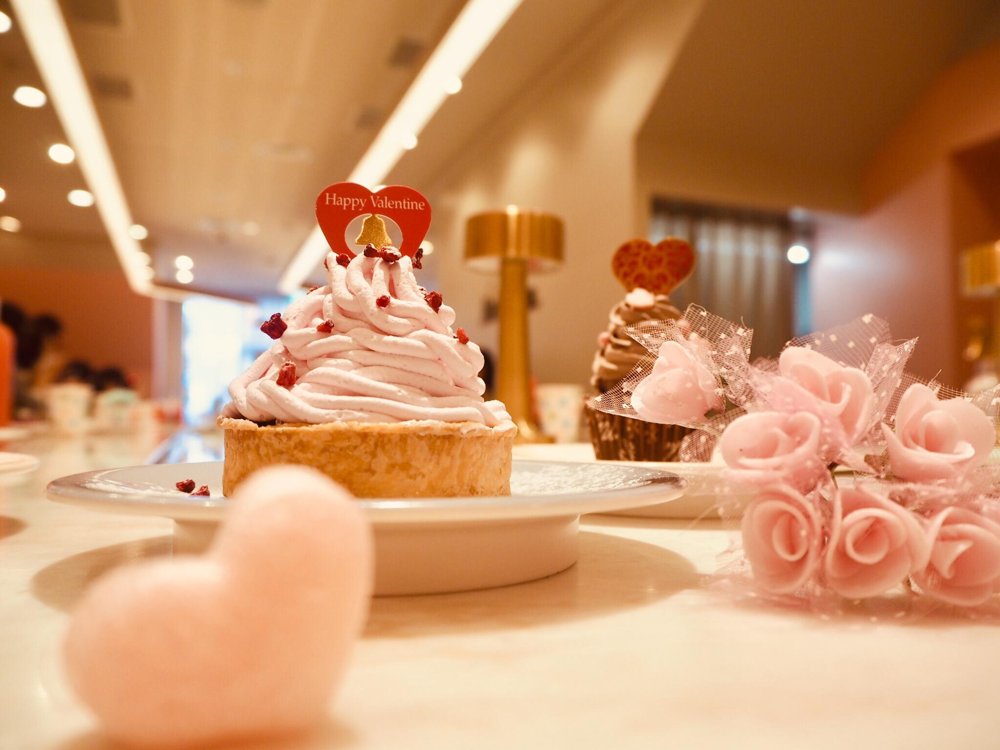 【cafe RON RON】回転スイーツカフェはバレンタインメニューもかわいい!_3