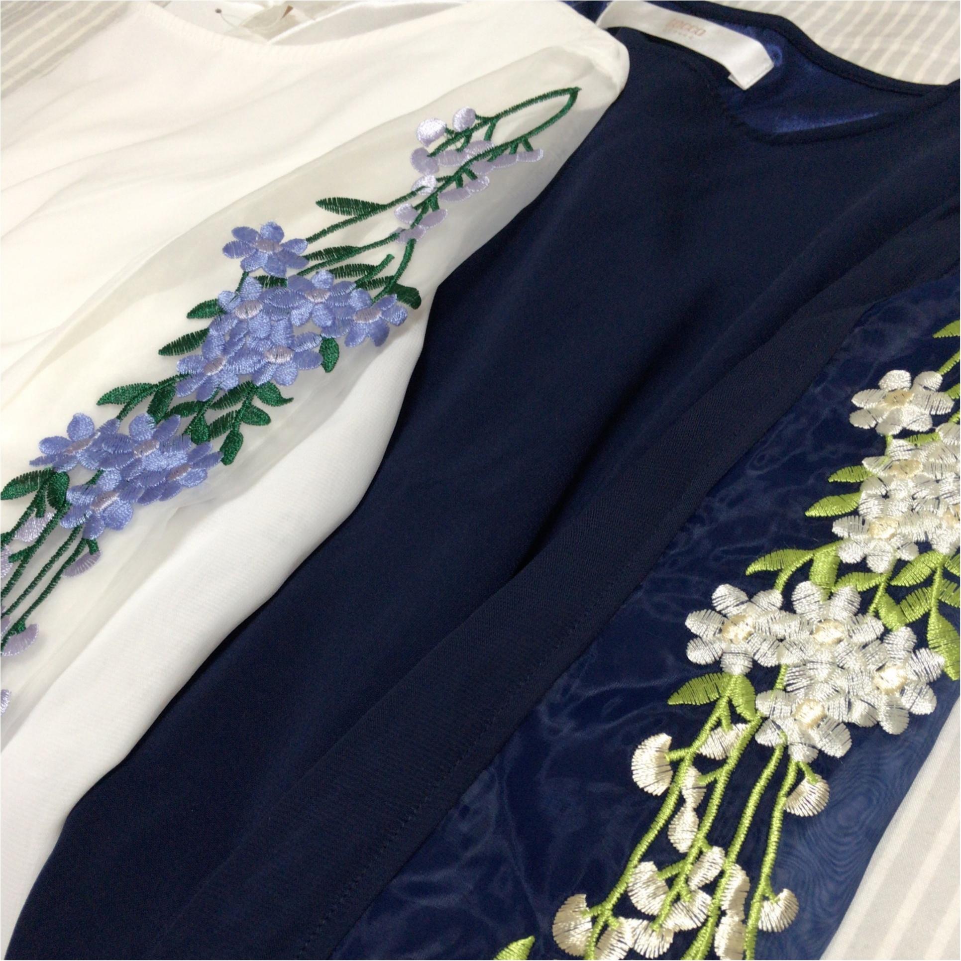 """秋も刺繍がアツイ!!tocco closetの刺繍ブラウスが""""いいオンナ""""かわいい♡_3"""