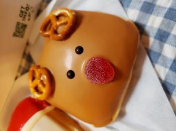 【Krispy Kreme DOUGHNUTS】かわいいドーナツでクリスマス気分♪