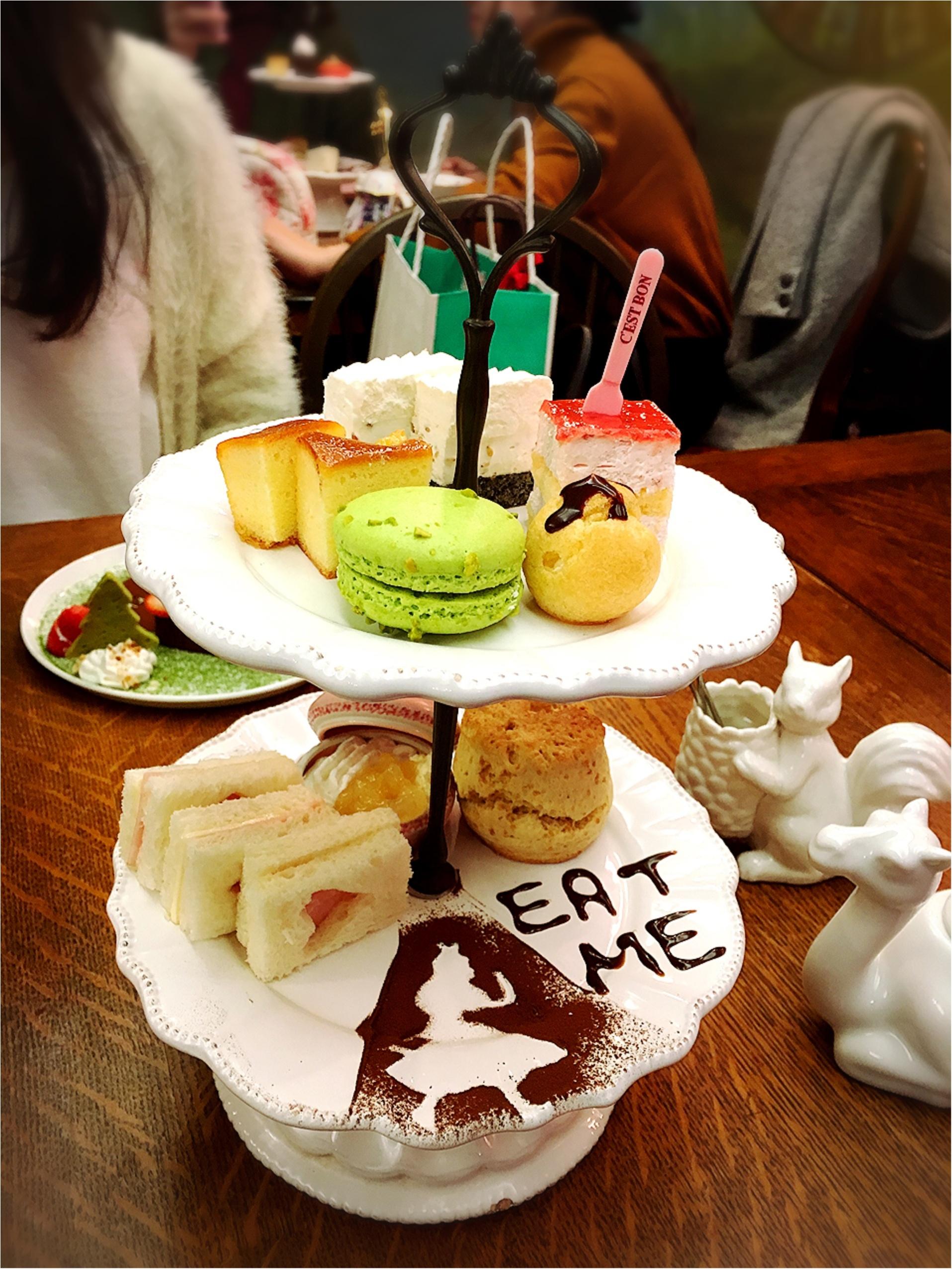 おとぎの国に来たみたい♡とってもかわいいカフェでティータイム!♡_5