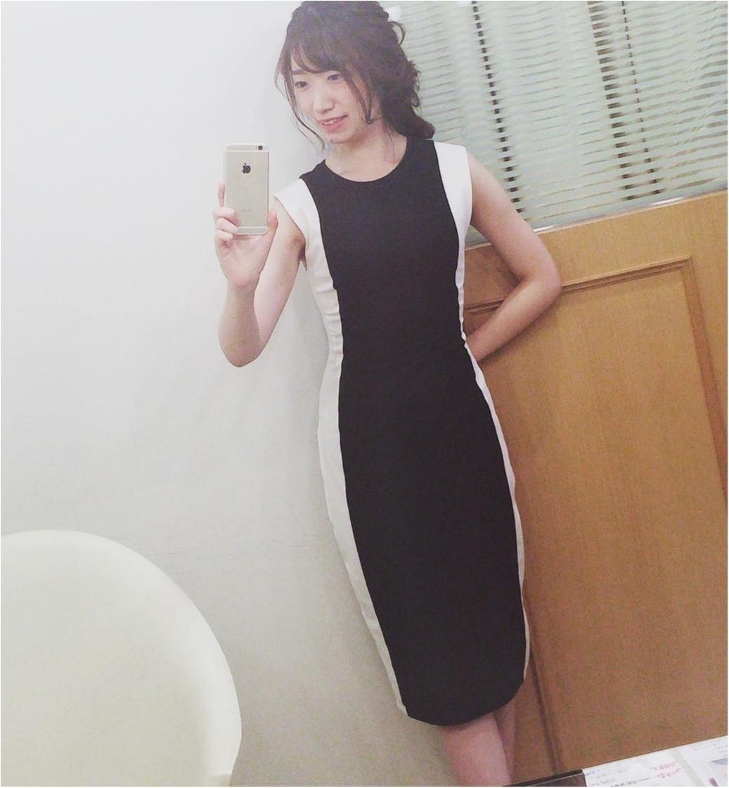 【ZARA ¥3,990】スタイルアップを叶えてくれる高見えドレスで結婚式へ♡♡_1
