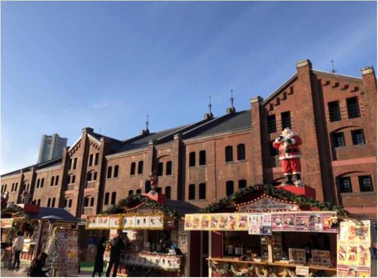 横浜赤レンガ倉庫【クリスマスマーケット】点灯式に行きました!_2