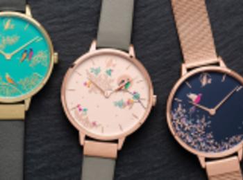 ロンドン発『サラミラーロンドン』の腕時計が日本初上陸!オフィスもデートもOKな華デザイン♡