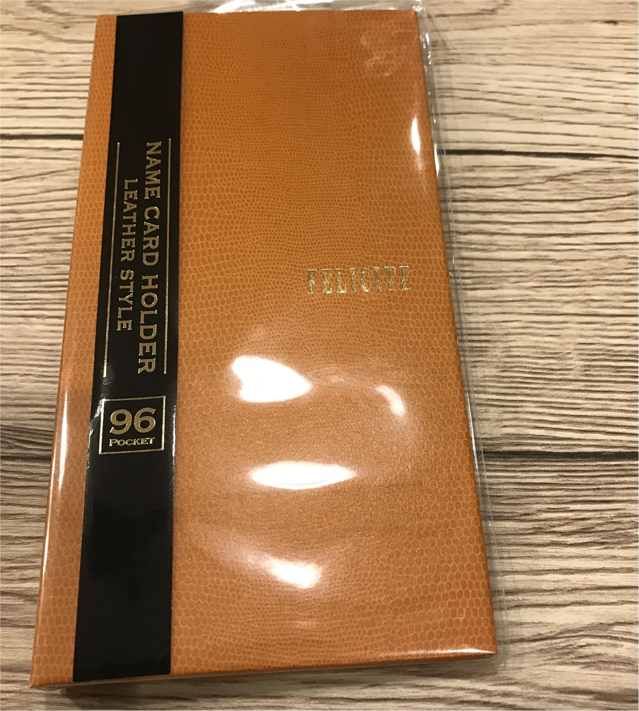名刺ファイルはプチプラで高みえ♡100円でgetしたお気に入りの名刺フォルダーはこれ♡_1