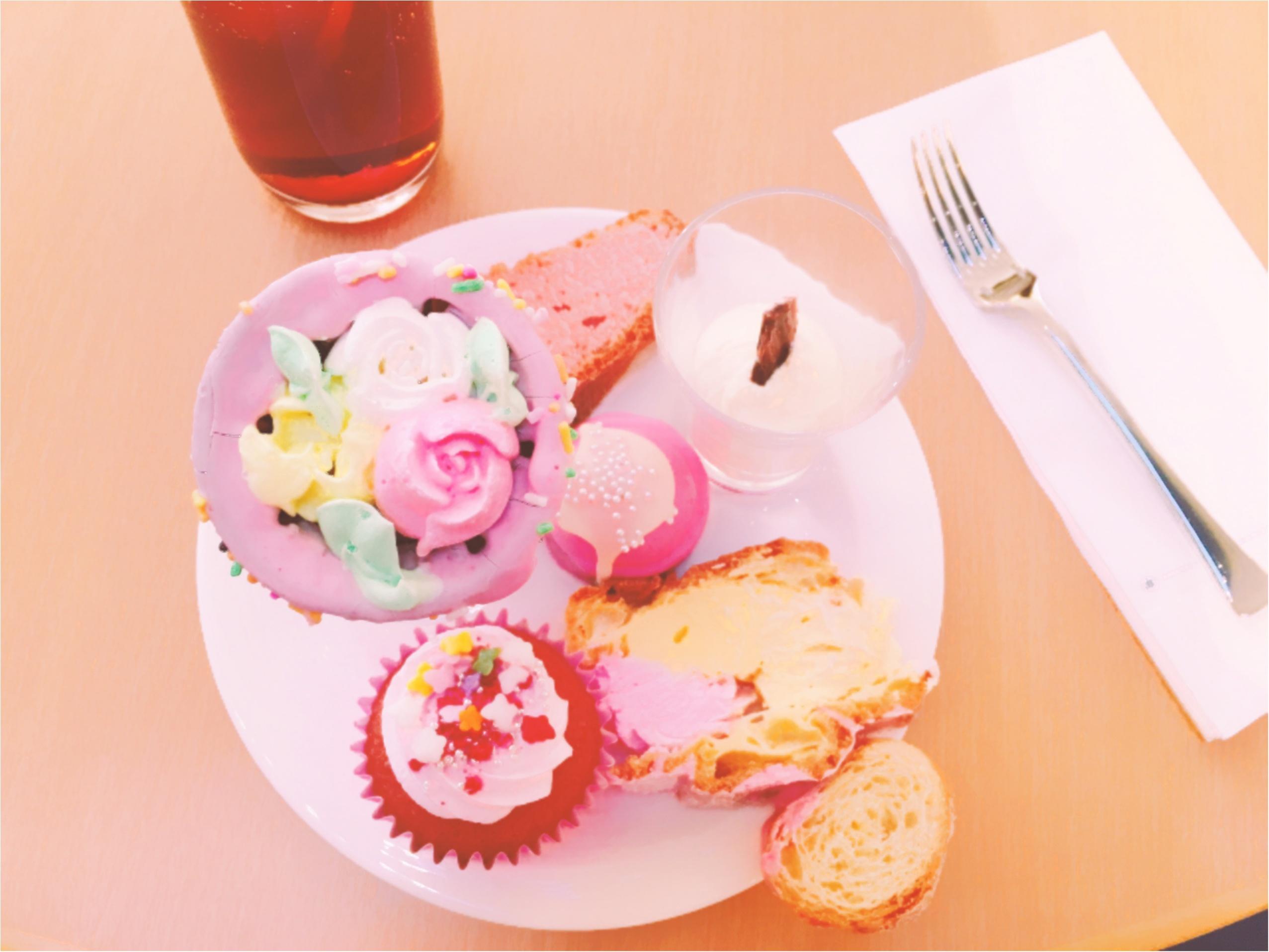 ヒルトン東京ベイ【ピンク・クリスマス】ビュッフェがかわいすぎる!_3