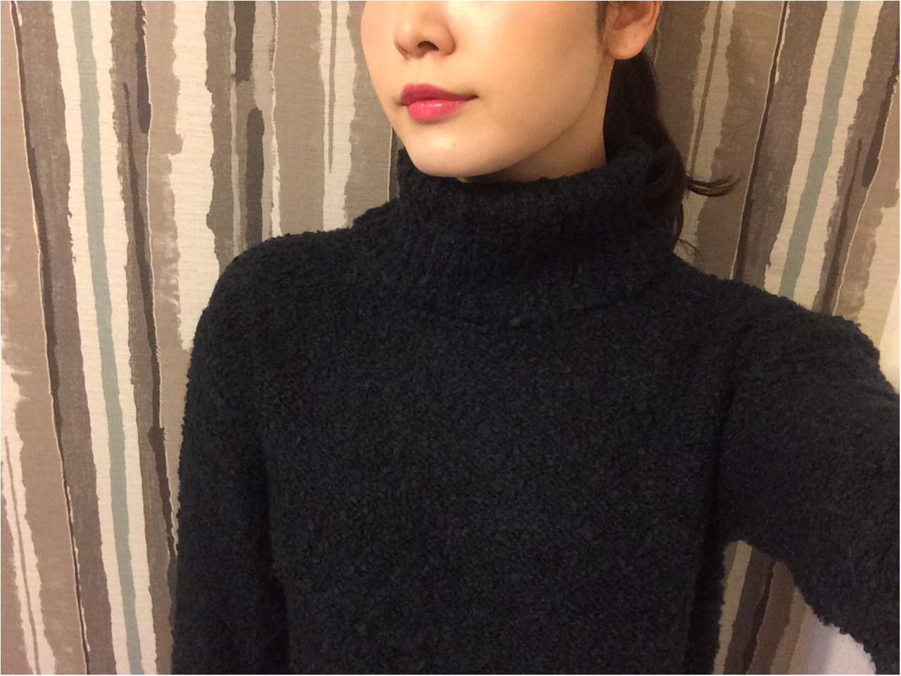 【GU】フワモコセーターで寒い冬に備えよう♡_4