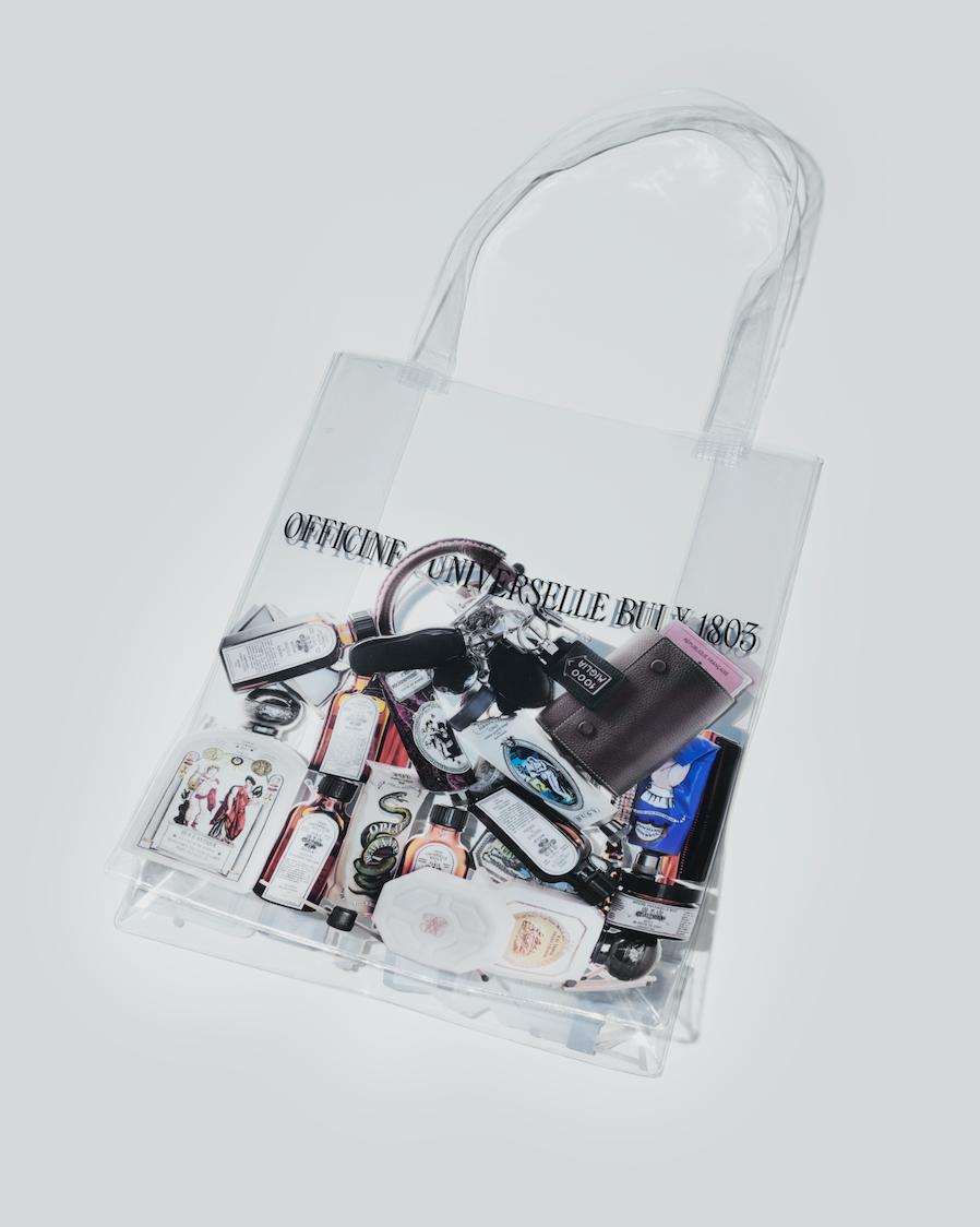 可愛いすぎ! ビュリーの限定ショッピングバッグはPVC素材♡_1