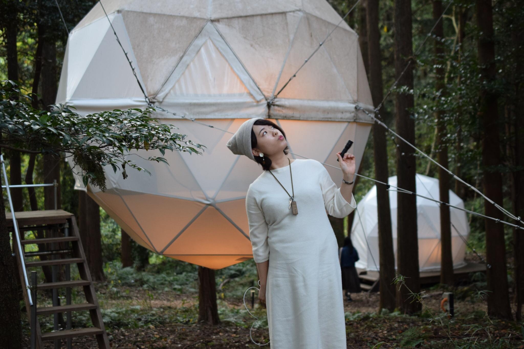 【グランピング】森に浮かぶテントに泊まれちゃう♡《INN THE PARK》@沼津_7