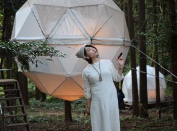 【グランピング】森に浮かぶテントに泊まれちゃう♡《INN THE PARK》@沼津