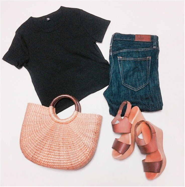 【この夏もUNIQLOが熱い】ヘビロテ間違いなし☆リブTシャツ_6