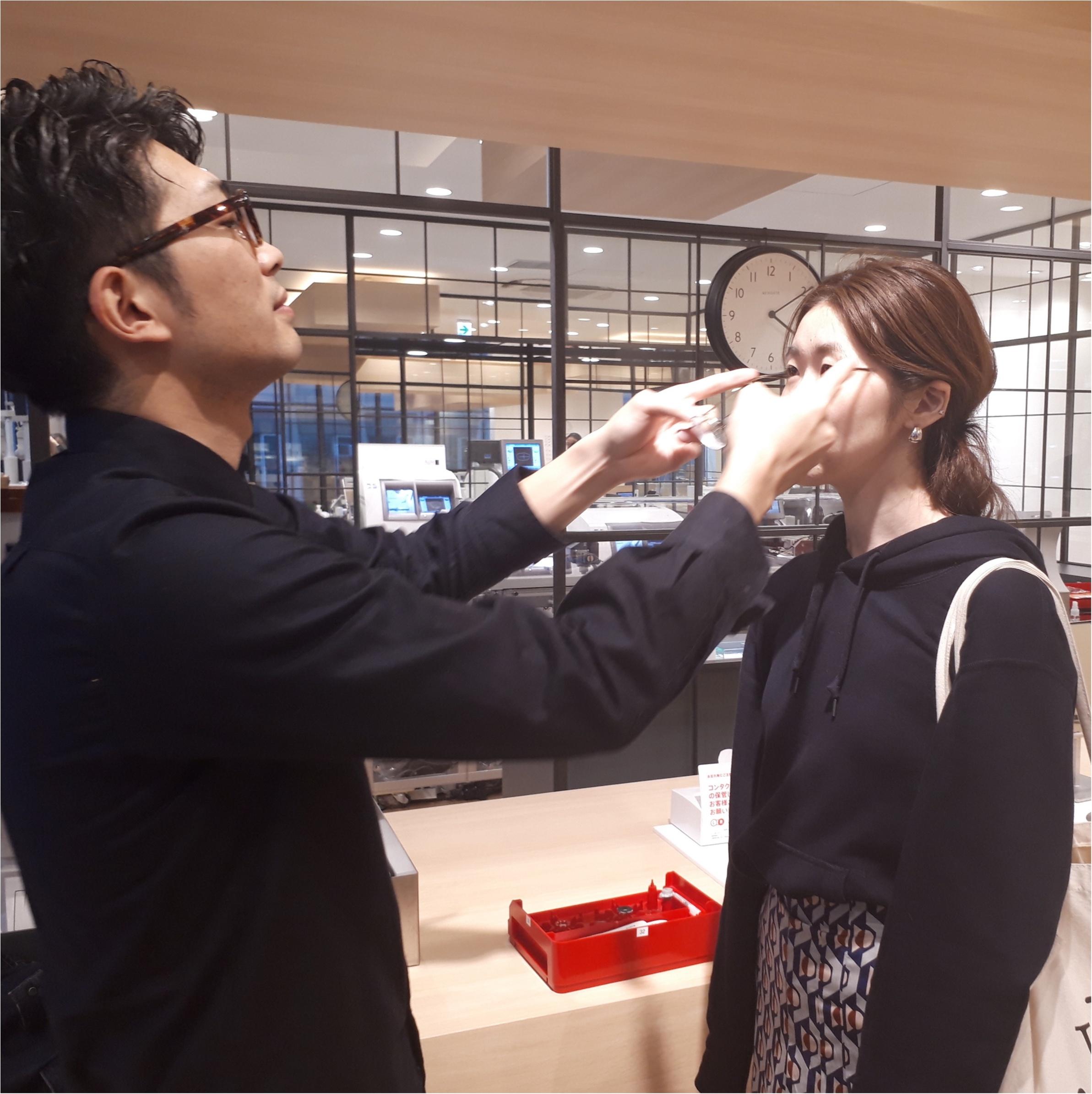 ライターみかりんが『JINS』でガチのメガネ選び! 自分にいちばん似合うメガネに出合った♡_3_5