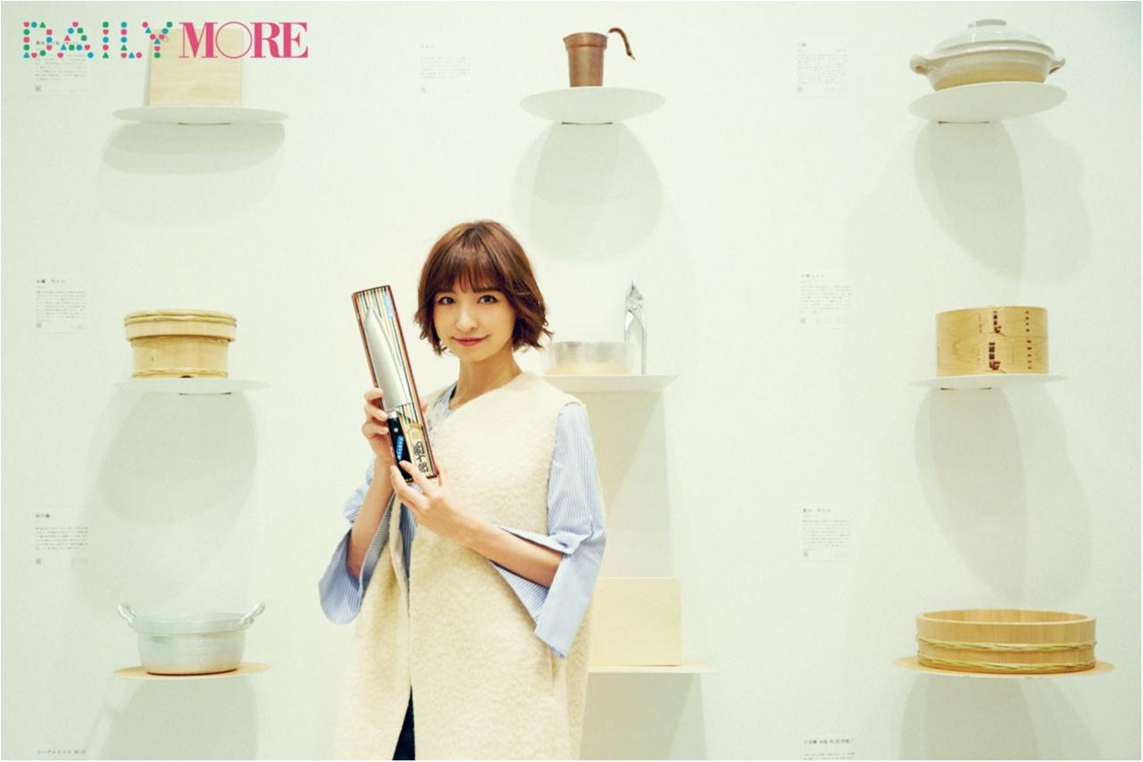 篠田麻里子と学ぶ、和の心に触れる「包丁選び&研ぎ方」!【麻里子の「和」コトハジメ】_1