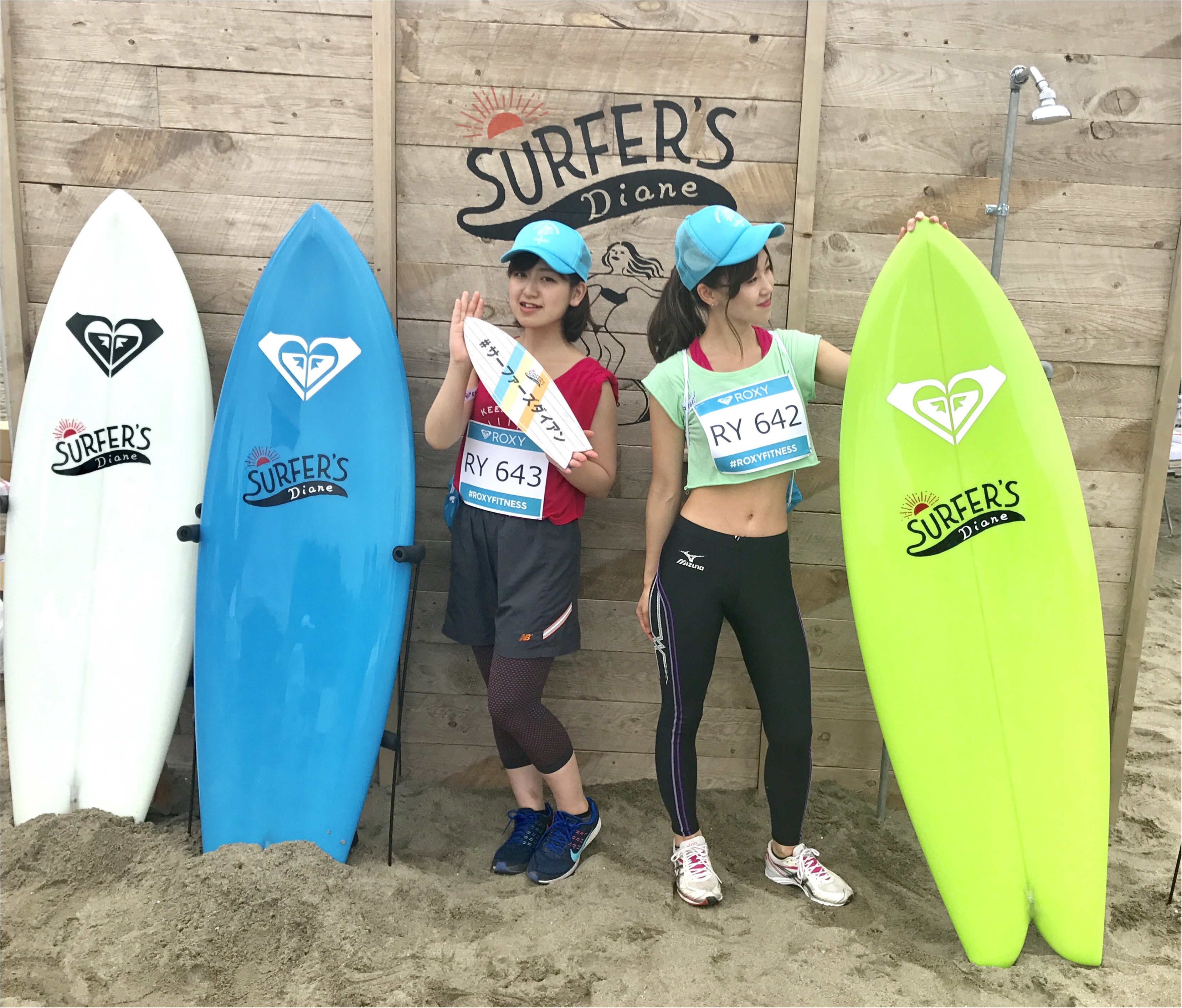 【EVENT】#ROXY FITNESS RUN SUP YOGA ★協賛ブースでお土産をGET✌︎ _6