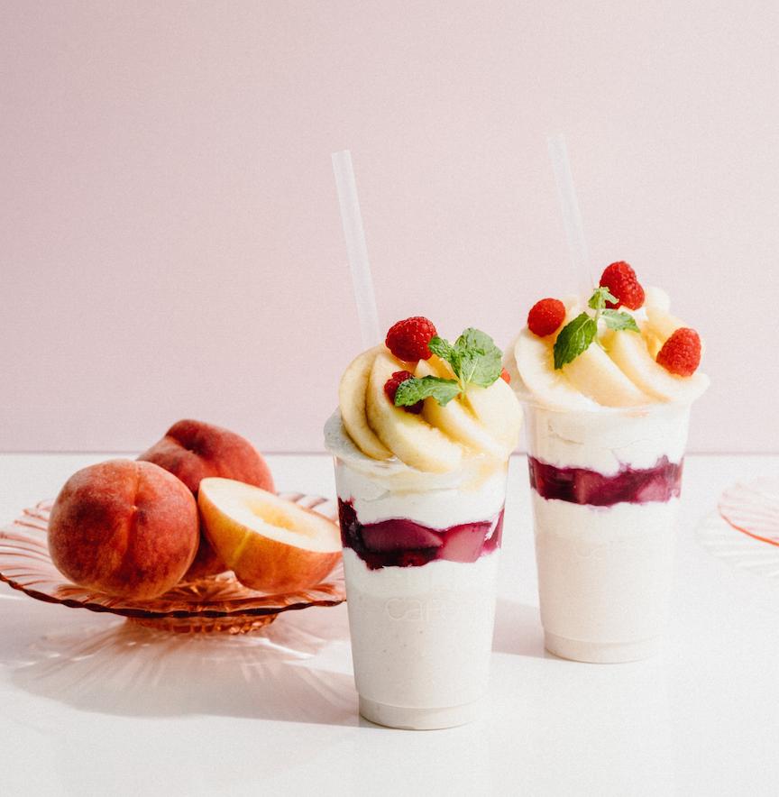 『ELLE café』で大人気のスムージーボンボンも桃仕様に♡ 7/1(土)から「ELLE café LOVES PEACH』を開催!_1_2