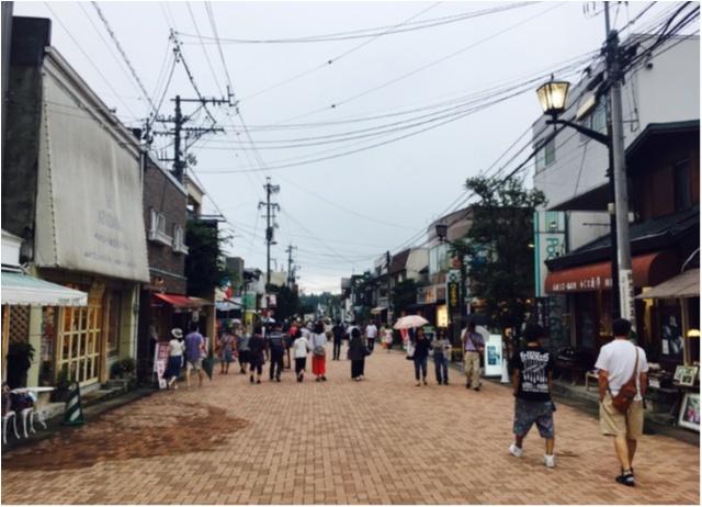 夏は避暑地の軽井沢へ★②貸し自転車でのんびーりゆの散歩_2