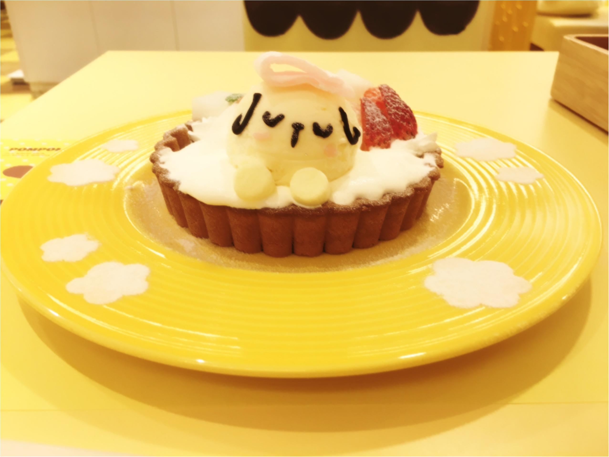 メニューリニューアル!かわいいかわいいポムポムプリンカフェに行ってきた♡♡_7