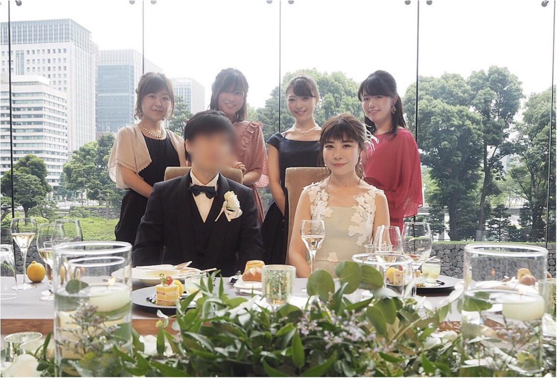 【Happy wedding❤︎】モアハピ部同期の結婚式にみんなで参加してきました!!挙式から二次会まで写真たっぷりでレポートします♡_8