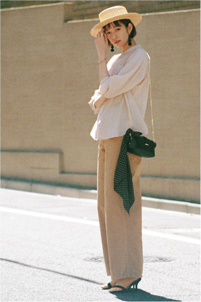 日焼け防止のマストアイテム 【帽子】の今どきコーデ15選   ファッションコーデ_1_10