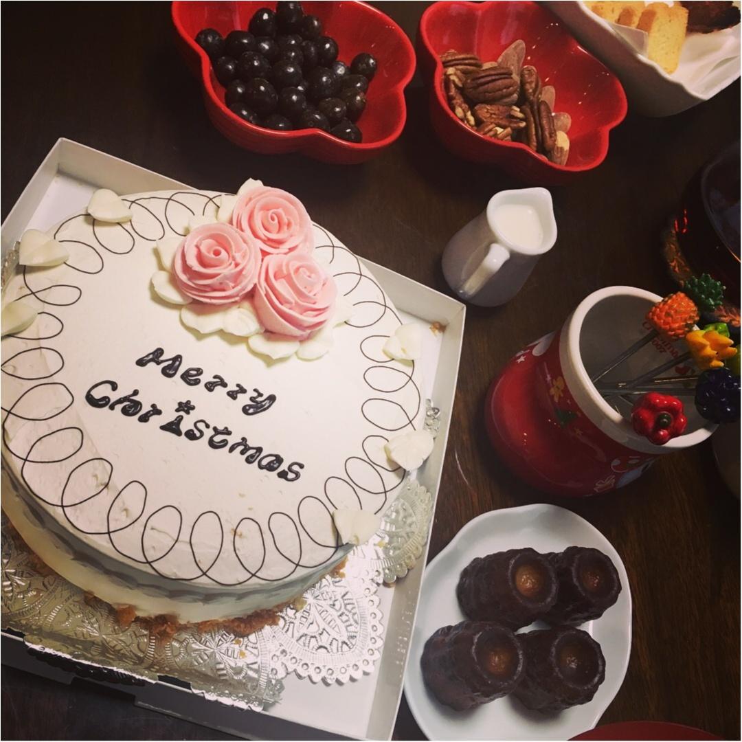 有休の使い方のご提案。一足早いクリスマスパーティーを★ケーキは成城アルプスの名物、バターケーキ!_4