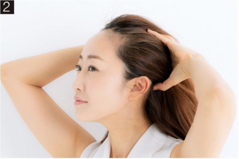 ★頭皮マッサージのやり方2