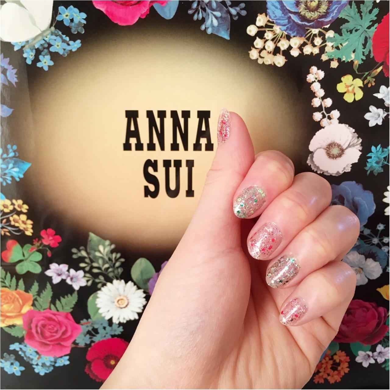 【期間限定】《ANNA SUI》からhappyな《ネイルキット》が登場中♡_3