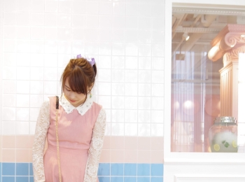 【れいかのヒロインコーデVol.3】韓国カフェ巡りはピンク縛りで♡