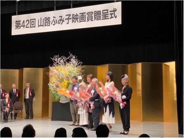 MORE専属モデル・唐田えりか、山路ふみ子新人女優賞を受賞! 女優としてさらに来年もはばたいて!_3