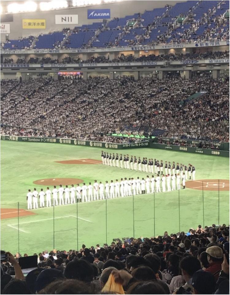 【プロ野球観戦★】いろんな球団の選手が集まる日本代表戦が面白い!私はこうやって野球観戦を楽しみます♡♡_9