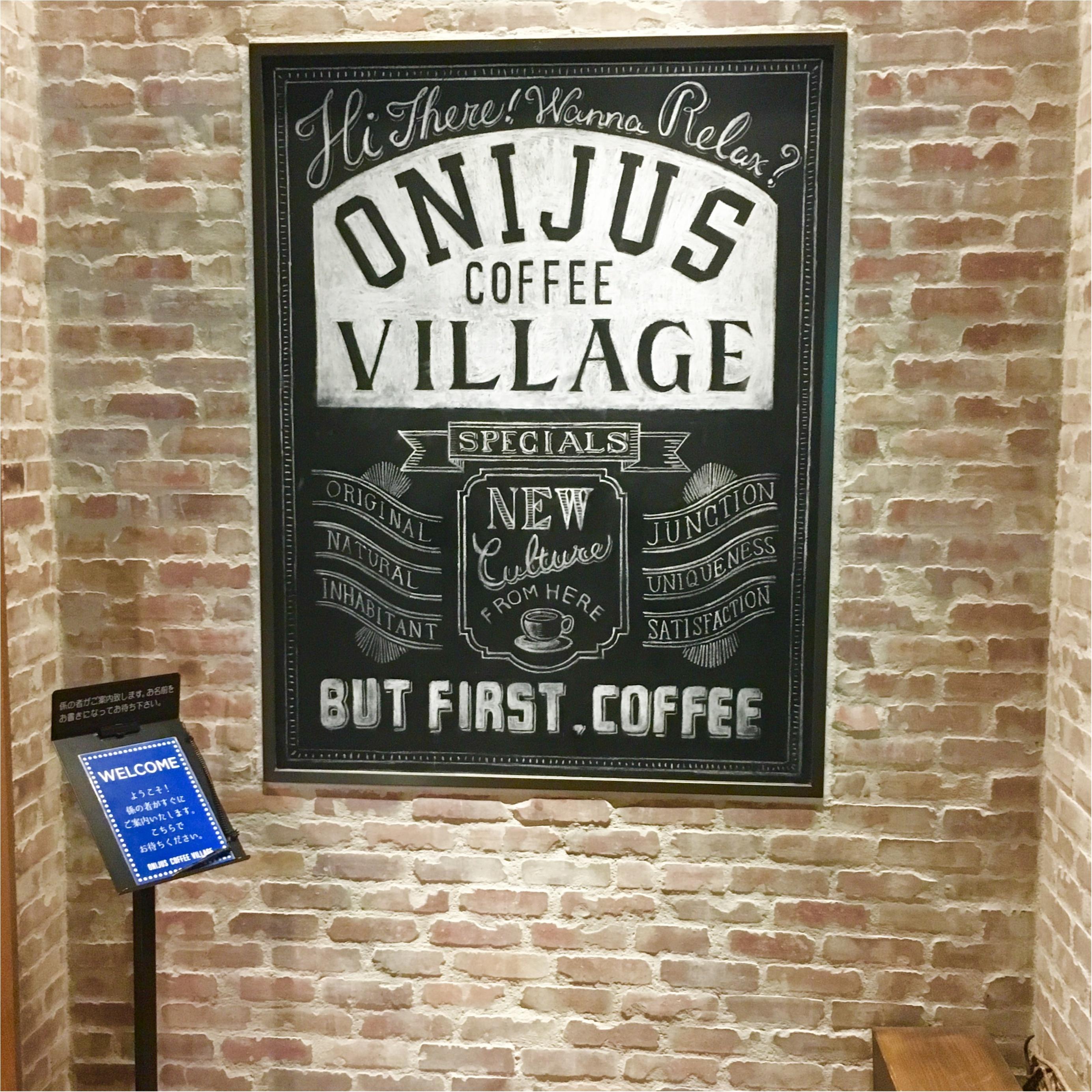 ▶︎▷まるでここだけ海外!なカフェ☺︎ONIJUS COFFEE VILLAGEに行ってきました✴︎_6
