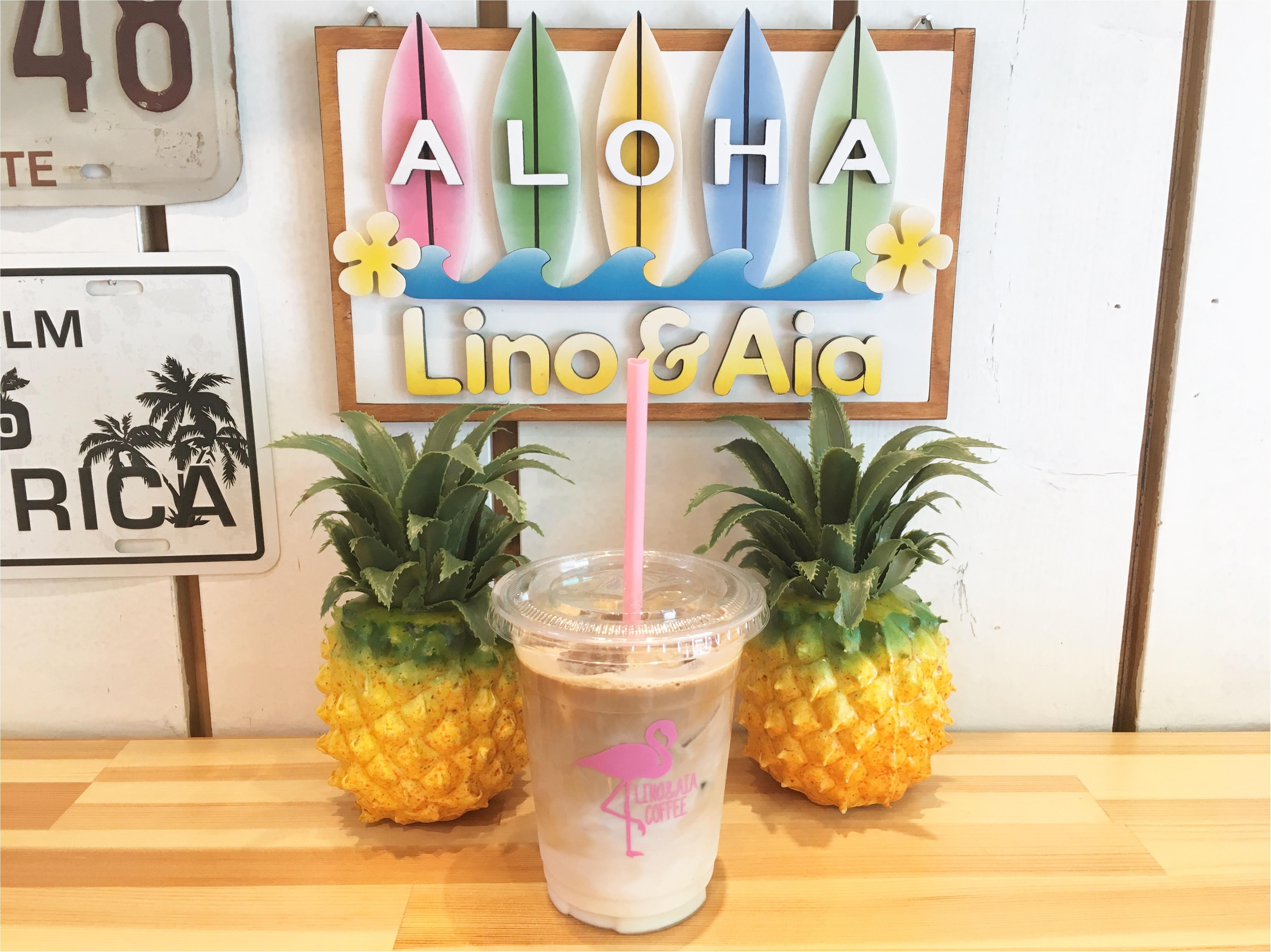 フラミンゴデザインが話題!ハワイアンコーヒースタンド♡♡_5