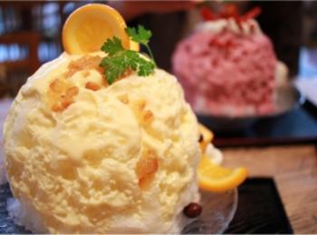 """【みおしーのかき氷日誌】今年の""""かき氷初め""""は三軒茶屋の『和kitchen かんな』で♡"""