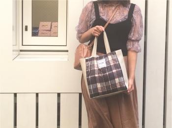 【MORE10月号】付録はスローブイエナのキルティングバッグ♡