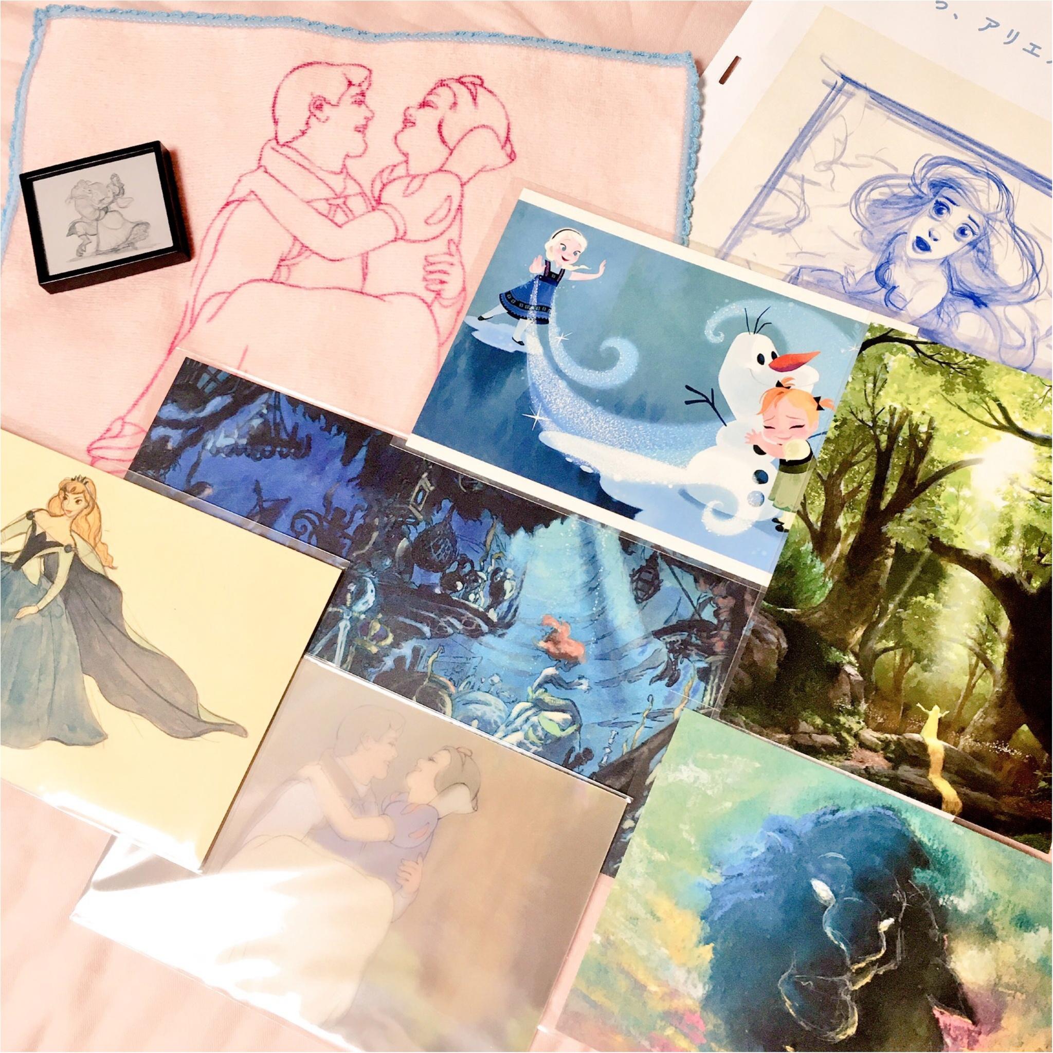 ディズニーアート展に行ってきました♡_8