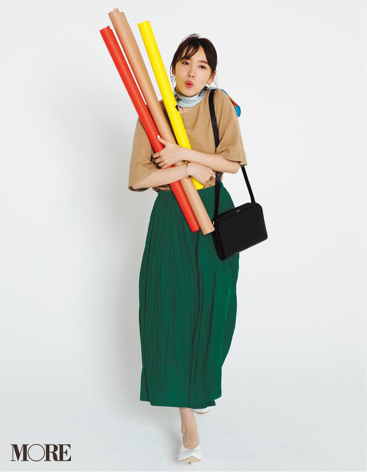 え?これ同じ服なの!? 【ベージュのセットアップ】で七変化着回し☆記事Photo Gallery_1_4