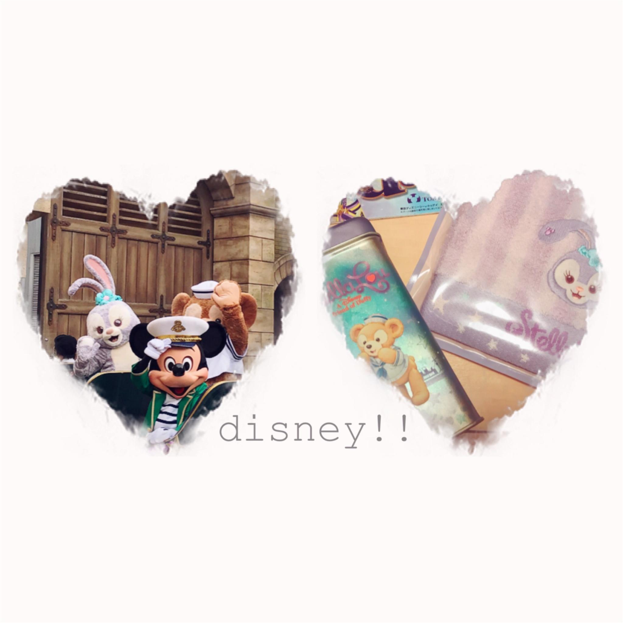 【Disney Sea】ダッフィーのお友だち、話題のステラ・ルー 会ってきました ♡♡ グッズも大公開!_1
