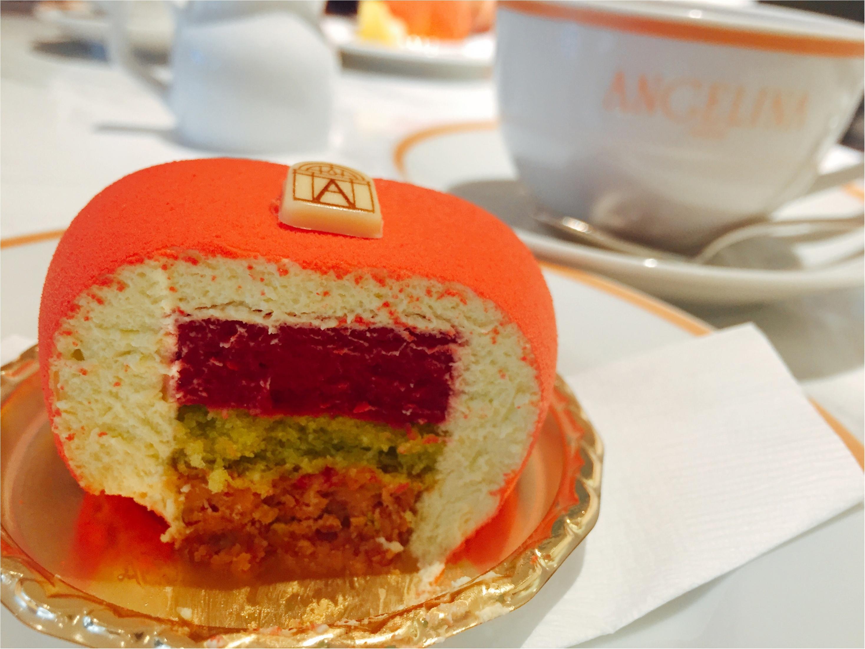 【バレンタイン限定】1903年創業のパリ老舗サロン「ANGELINA」のハート♡ケーキが可愛すぎて食べるのがもったいない!!_7_1