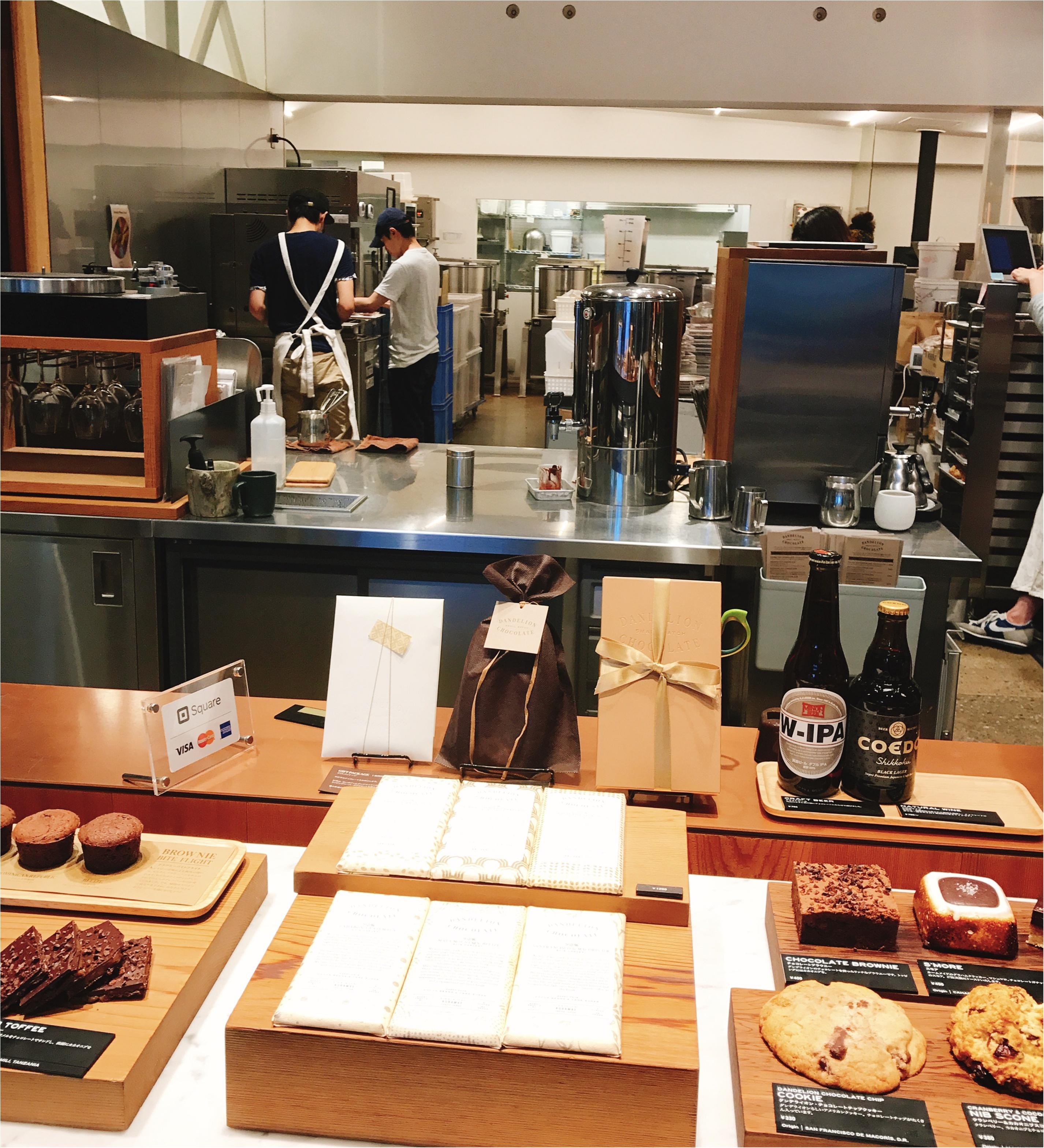 """香りを食べる♡チョコレートの新トレンド""""Bean to bar""""の専門店「ダンデライオン・チョコレート」@蔵前☻コンビニでも本格派のチョコレートが買えちゃう!?_2"""