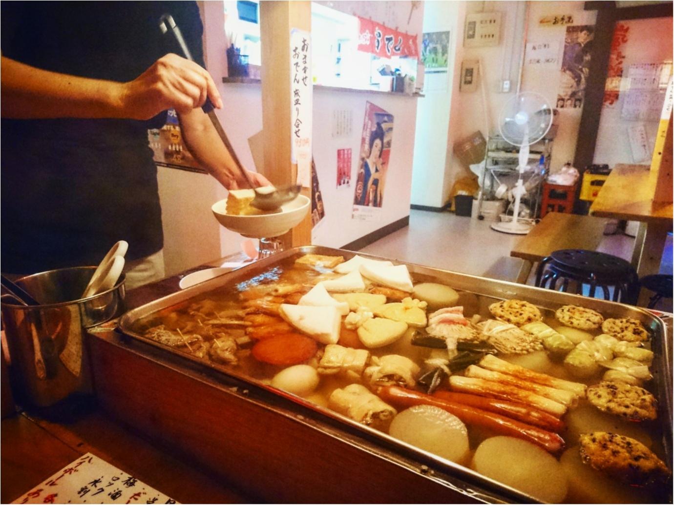 【グルメ】おでんの屋台がお店の中に ♪ これからの季節、寒い日にはぴったり!東京神田『おでん屋台村』_3