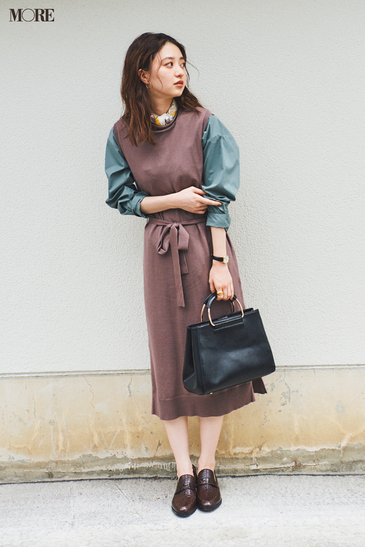 秋コーデ特集《2019年版》- トレンドのブラウンや人気のワンピース・スカートでつくる、20代におすすめのレディースコーデ_2