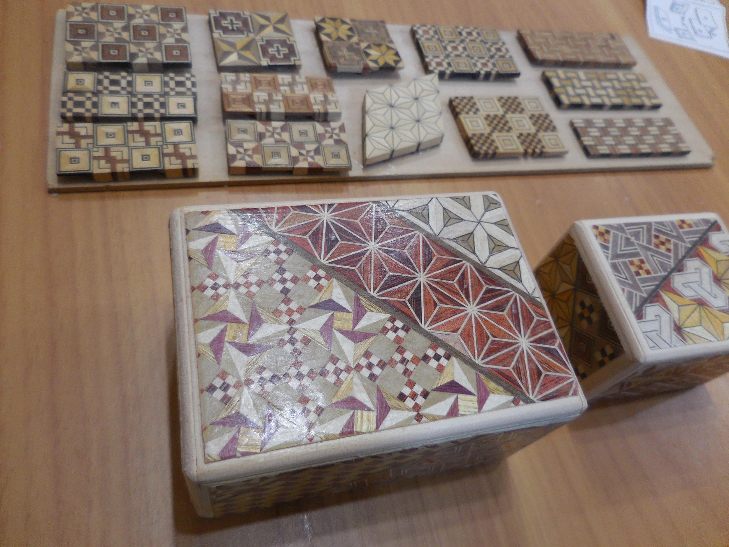 【箱根・寄木細工】秘密箱の工作体験をしてきました。_7