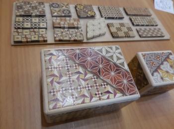 【箱根・寄木細工】秘密箱の工作体験をしてきました。