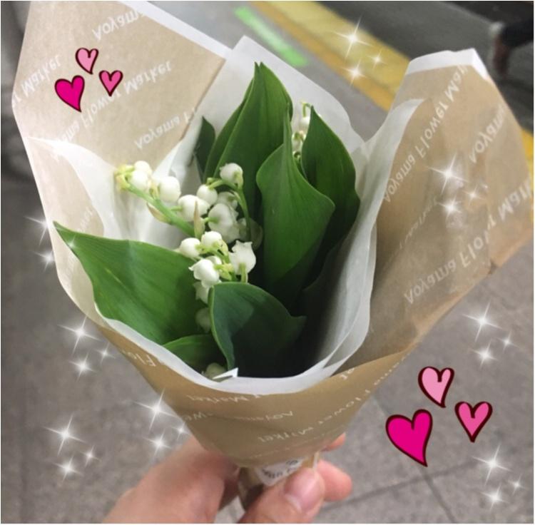 【花を贈ろう】5月1日は『すずらん』の日❤︎大切な人に日頃の感謝を込めて。フランス的ハッピーをおすそ分け♪_2