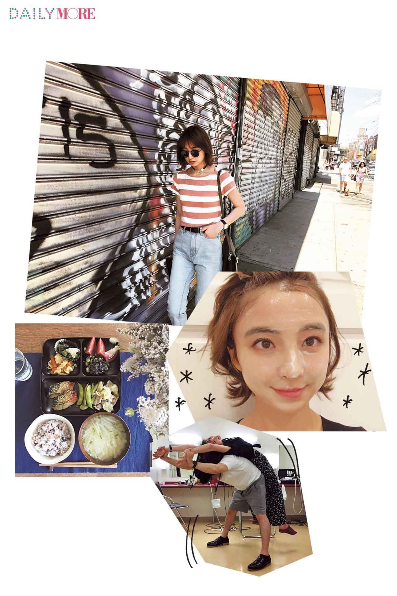 【モアモデルの夏の過ごし方】麻里子は、体の管理を入念に。すきま時間も有効活用していま~す♪_1