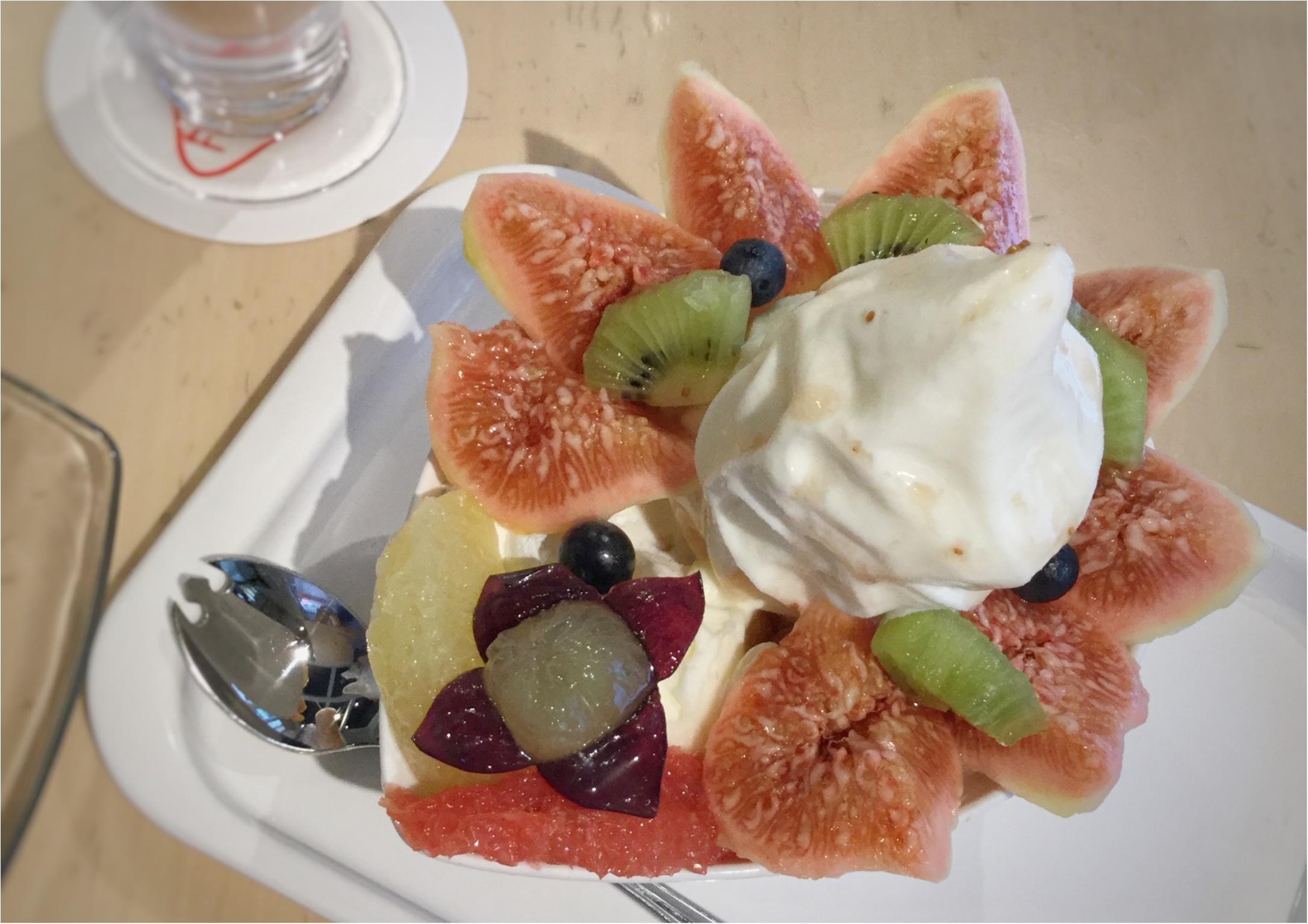 【ご当地スイーツ】広島に来たらやっぱり立ち寄りたい《Fruit Cafe TAMARU(タマル)》名物パフェ&季節限定いちじくパフェを召し上がれ♡_3