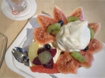 【ご当地スイーツ】広島に来たらやっぱり立ち寄りたい《Fruit Cafe TAMARU(タマル)》名物パフェ&季節限定いちじくパフェを召し上がれ♡