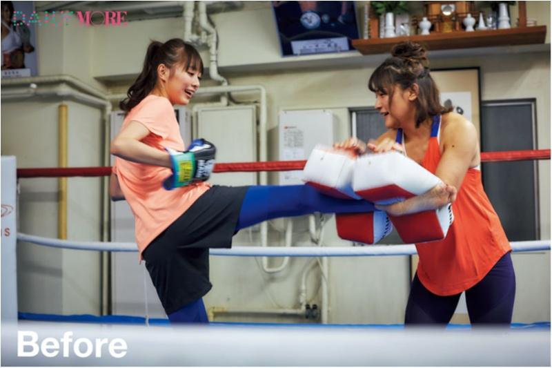 約半年のトレーニングで、だーりおが変わった4つのこと!【#モアチャレ 内田理央の「キックボクシング」チャレンジ!】_2