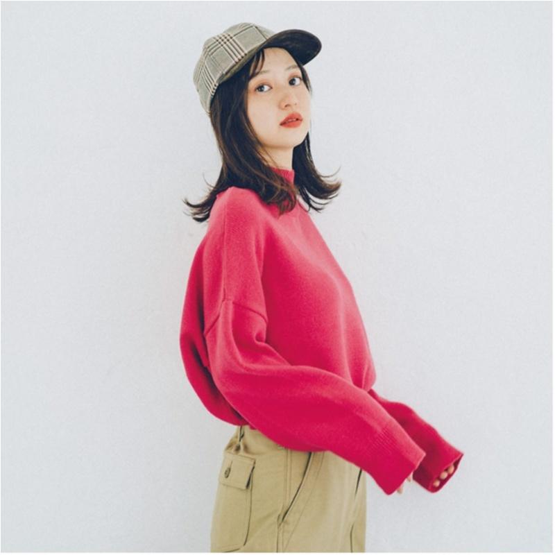 2018年秋のファッション ニット20