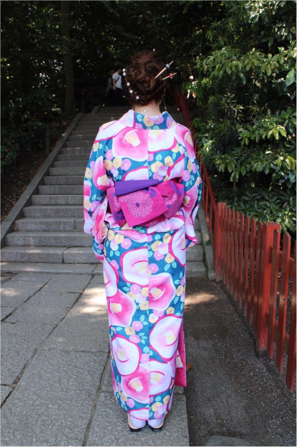 レンタル着物で鎌倉へ!私の着物コーデをご紹介!_3